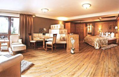 Wohnraum in der Romantiksuite