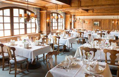 Restaurant des Hotels mit zahlreichen Plätzen