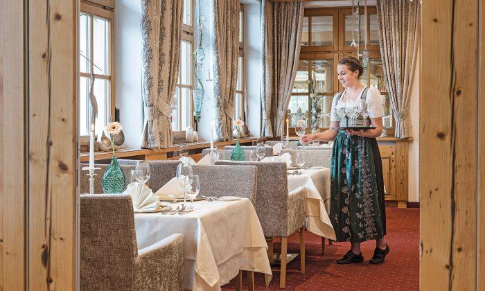 Restaurant Silberstube im Hotel Mooshof