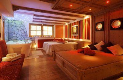 Betten im Ruheraum