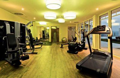 Moderne Fitnessgeräte