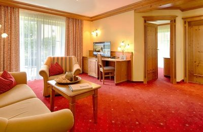 Wohnraum in der Böhmerwald-Suite
