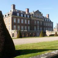 Das historische Schloss Nordkirchen von der Seite
