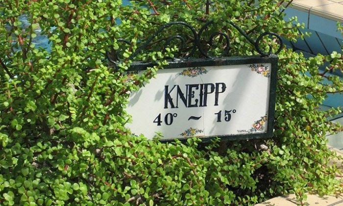 Schild beim Sebastian Kneipp Mueseum
