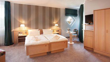 Bett im Doppelzimmer Komfort
