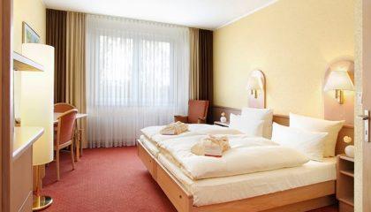 Bett im Doppelzimmer Standard