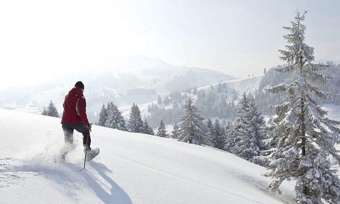 Macht mal Schneewanderung im Bayerwald