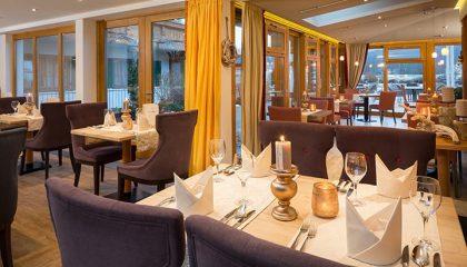 Restaurant im Winter