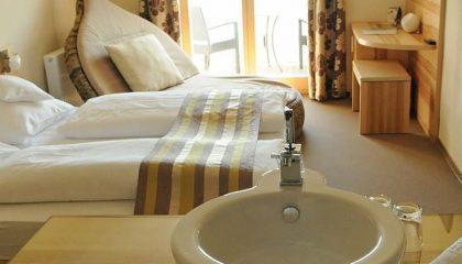Bett vom Kuschel Doppelzimmer