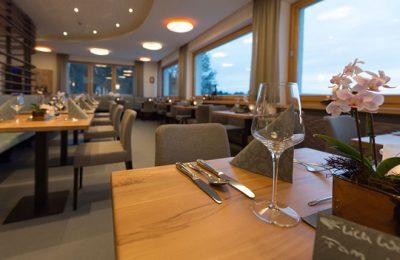 Aufnahme vom Restaurant