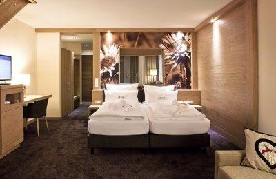 Bett in der Galeriezimmer