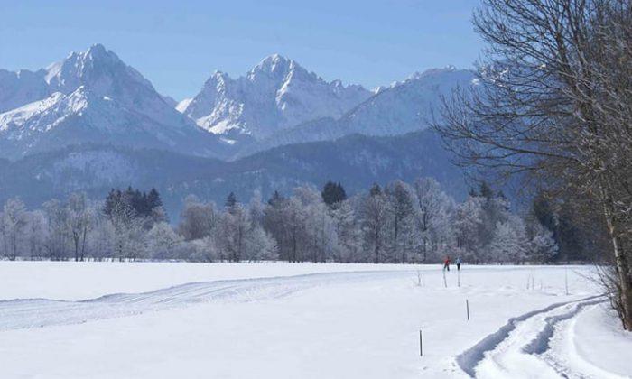 Schneelandschaft in Füssen