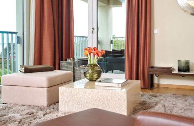 Wohnbereich in der Suite Hideaway