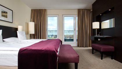 Schlafbereich in der Suite Landblick