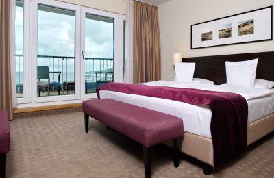 Schlafzimmer in der Suite Penthouse