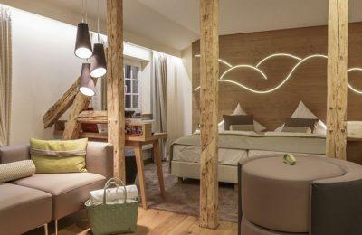 Wohnraum im Doppelzimmer im Stammhaus