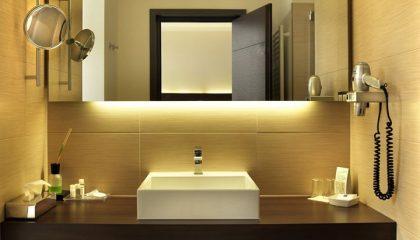 Bad im Einzelzimmer Lichtflügel