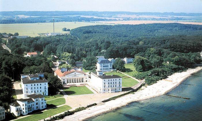 Luftaufnahme von Heiligendamm an der Ostsee