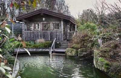 Holzhütte mit finnishcer Sauna