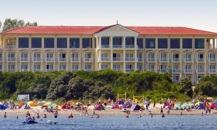 Außenansicht vom Morada Strandhotel Kühlungsborn
