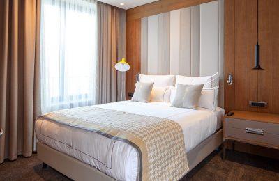 Bett im Classic Room
