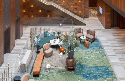 Lobby im Titanic Chaussee Berlin Hotel