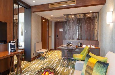 Wohnbereich in der Titan Suite