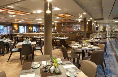 Blick auf die Tische im Pascarella Restaurant