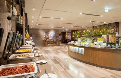 Buffet im Restaurant Alesta