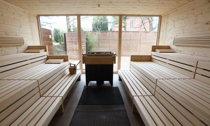 Finnische Sauna im Elbstrand Resort