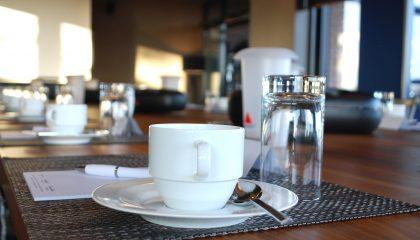 Kaffee an der Bar