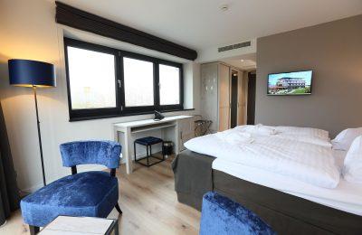 Bett im Komfortzimmer Südseite 2